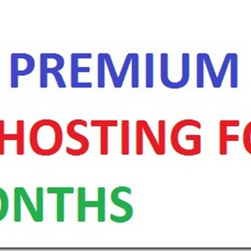 Premium webhosting for 6 months for free with full access