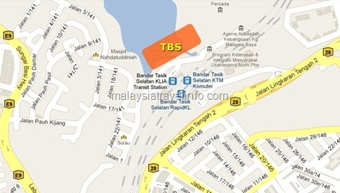 TBS-BTS map