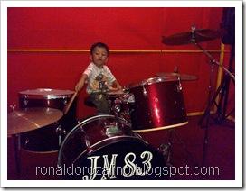 Violino Ridho Putra Kembali Berlatih Drum di JM 83 STUDIO (12)