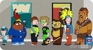 Cleveland at Comic Con screenshot