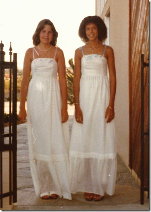 lisa & cathy 1979