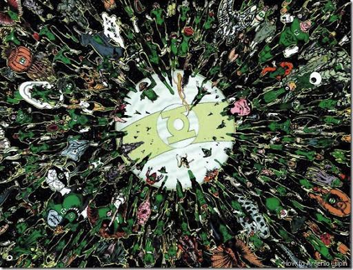 green lantern corps annual 1 cbr 150