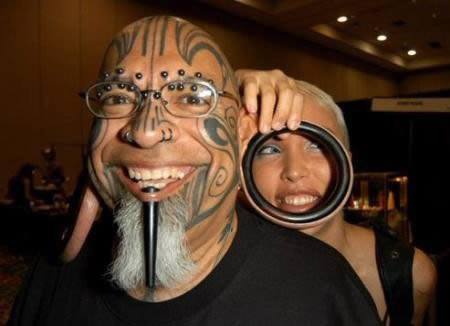 Most Extreme Body Piercings 011