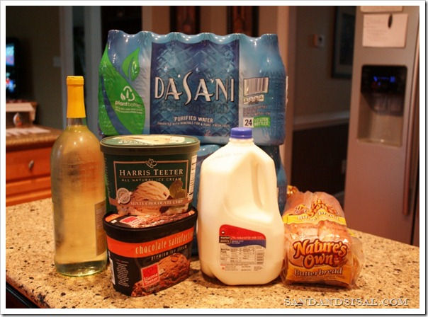 Hurricane supplies