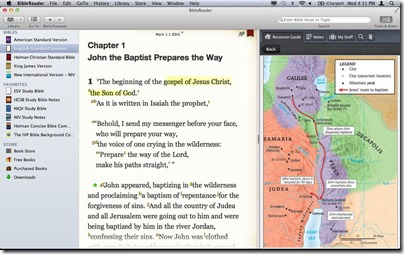 Bible reader for Mac