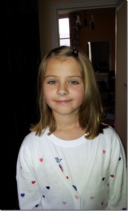 Emma's New Haircut