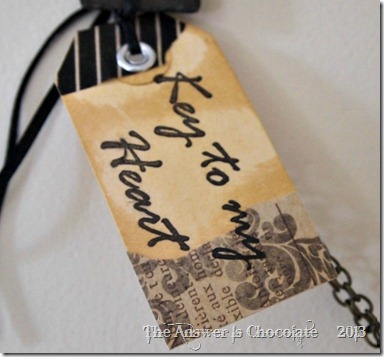 Key To My Heart Tag