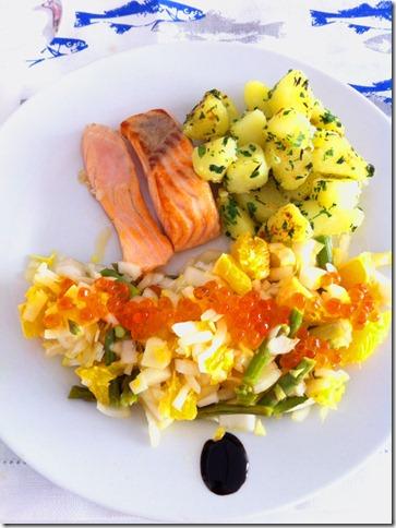 lqmsc salmon patatas ensalada endibias