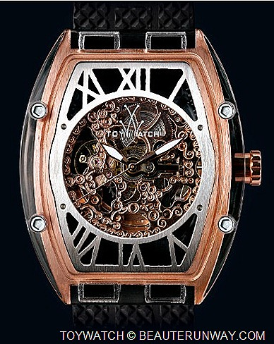 Toywatch Skeleton Watch Montaggio ok Marco  Mavilla  Luxurious Italian horology house