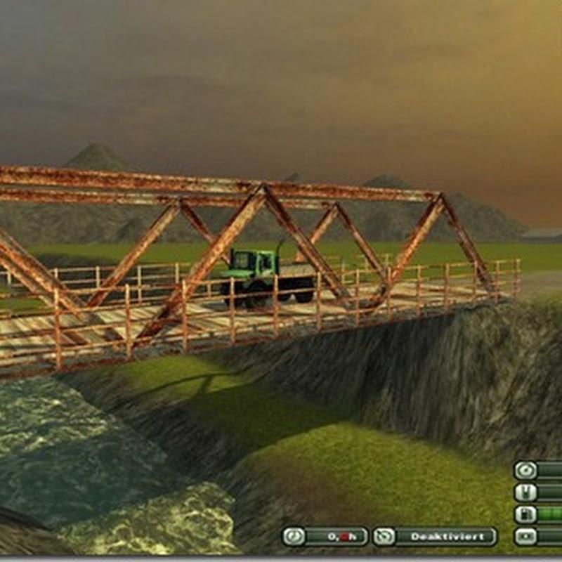 Farming simulator 2013 - Rostige Brücke v1.0 Mod (ponte)
