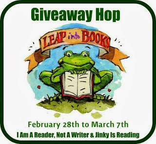 Leap into books hop