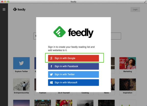 Mac app news feedly9