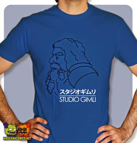 Camiseta friki con diseño: Studio Gimli