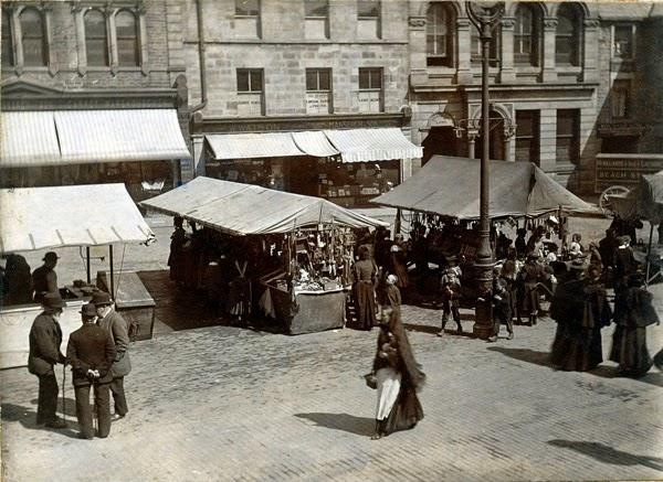 Lancaster Market Square c1900