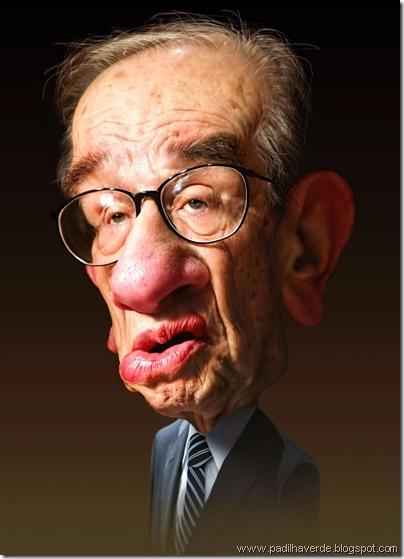 Caricatura Alan Greenspan1