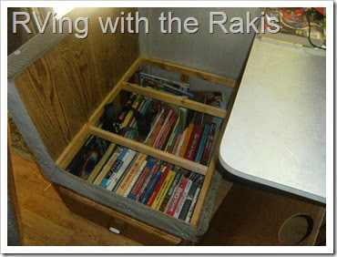 Homeschool organization while living in an RV - RVing with the Rakis