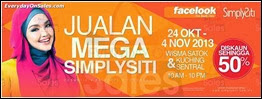 SimplySiti Beauty & Cosmetics Mega Sale 2013 Malaysia Deals Offer Shopping EverydayOnSales