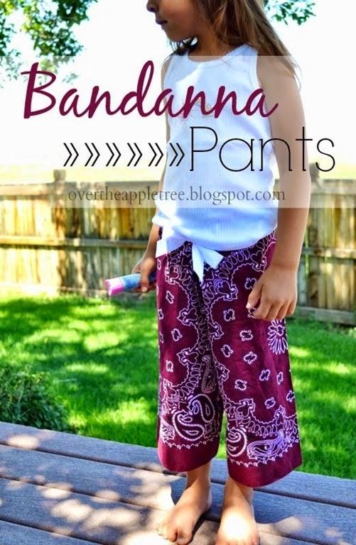 bandana shorts