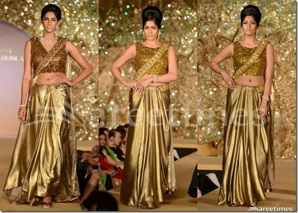 Abu_Jane_Sandeep_Gold_Saree_Drape