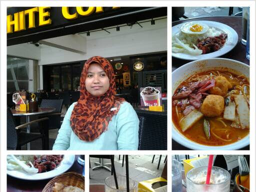 Late lunch @ Old Town White Coffee,Alamanda