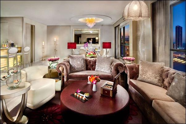 غرف فندق كمبنسكي البحرين