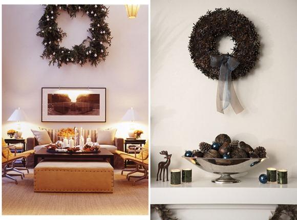 Decoración navideña de pared