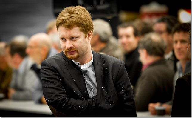 Vladimir Potkin - Tata Steel Chess 2012, Photo by Fred Lucas