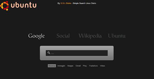 SSLDISTRO - home page per Ubuntu