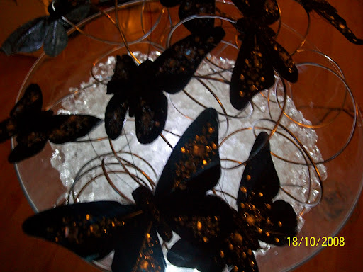 butterfly wedding centerpieces
