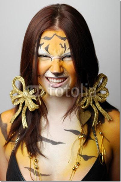 maquillaje de tigre (8)
