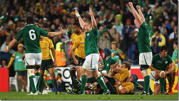 Ireland celebrates