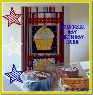 Memorial Day Birthday Card
