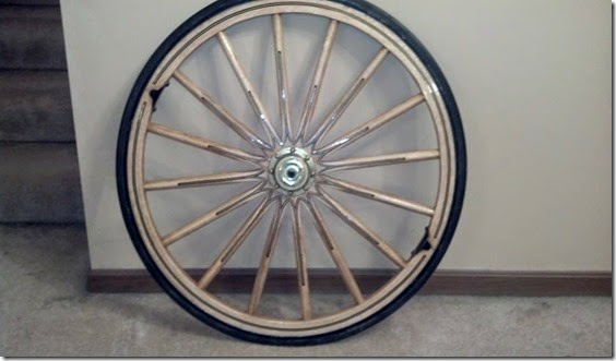 WheelForchariot16Spokes
