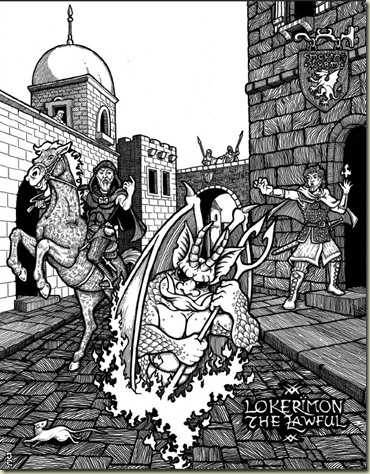 Lokerimon the Lawful, Dungeon Crawl Classics Beta Rules, pg 49