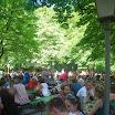 Munich en Bavière - Jardin anglais - Biergarten