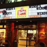 wendy's in tokyo in Tokyo, Tokyo, Japan