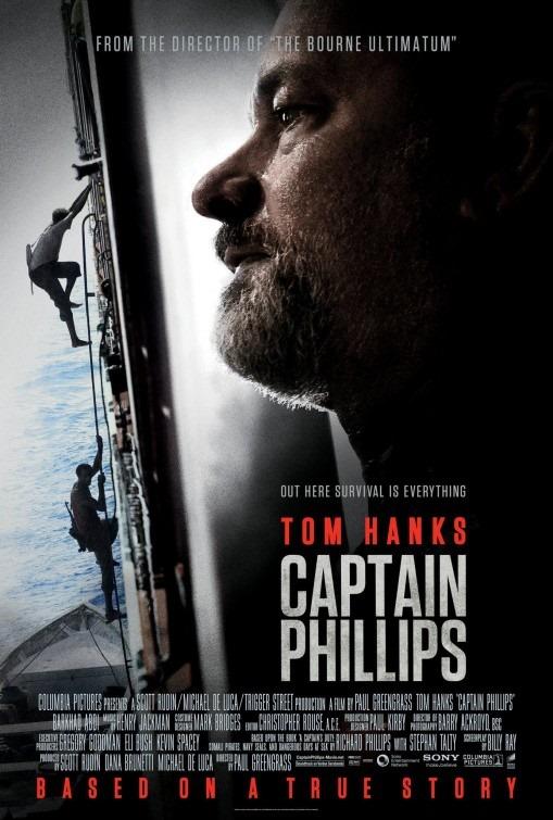 Tom Hanks egy ütős Phillips kapitány poszteren