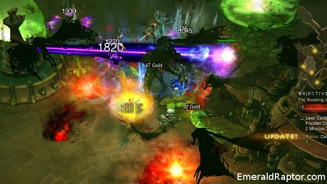 Diablo 3 action