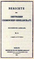 Berichte der Deutschen Chemischen Gesellschaft - Доклады немецкого химического общества