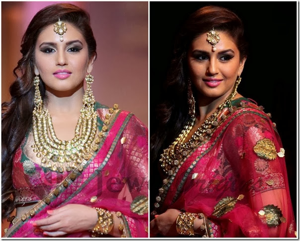Huma_Qureshi_Kundan_Jewellery
