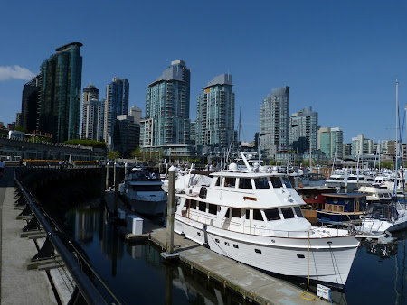 Imagini Canada: Marina din Vancouver