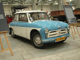 AWZ P70 poprzednik Trabanta