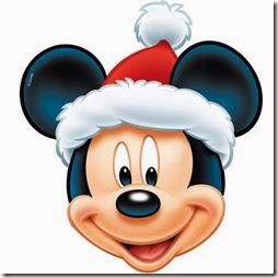 mascara mickey mouse navidad