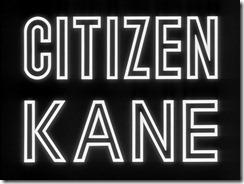 Citizen Kane Main Title