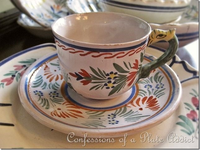 CONFESSIONS OF A PLATE ADDICT Vintage French Favorites