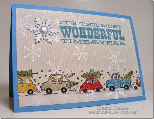 LeAnne Pugliese WeeInklings Merry Monday 125 Christmas Time for A Tree Stampin Up