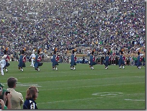 Notre Dame vs Purdue Irish Guard