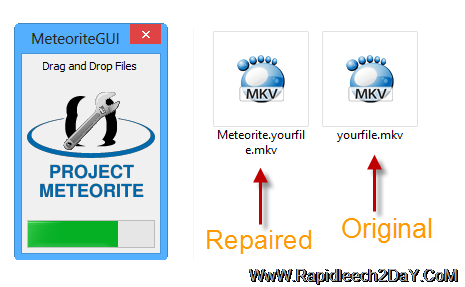 How to Fix Damaged MKV Files Repaired