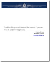 The Fiscal Impact of Federal Personnel Expenses