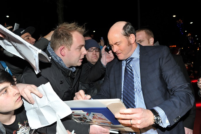 Dublin – 9th December 2013: *David Koechner attends the Dublin Premiere of Anchorman 2 – Credit: Clodagh Kilcoyne for Paramount Pictures International via Getty Images